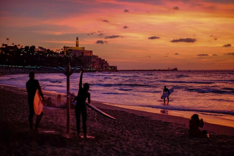 Your Guide to the best surfing in Israel